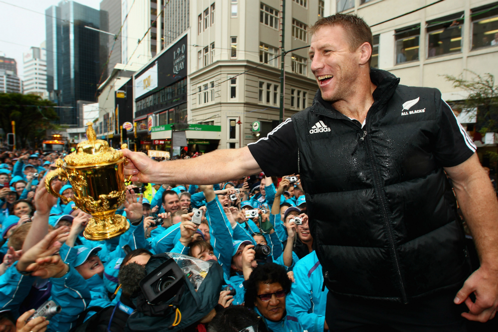 Brad Thorn was part of the All Blacks 2011 World Cup winning team.  Photo: Getty Images