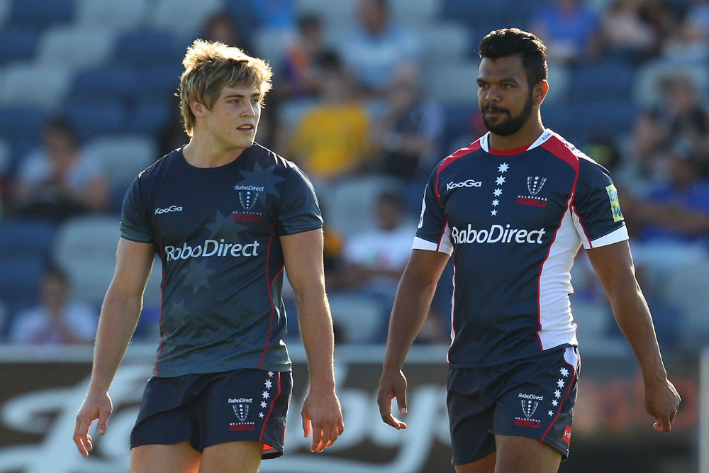 Kurtley Beale struggled with off-field issues in his time at the Rebels. Photo: Getty Images