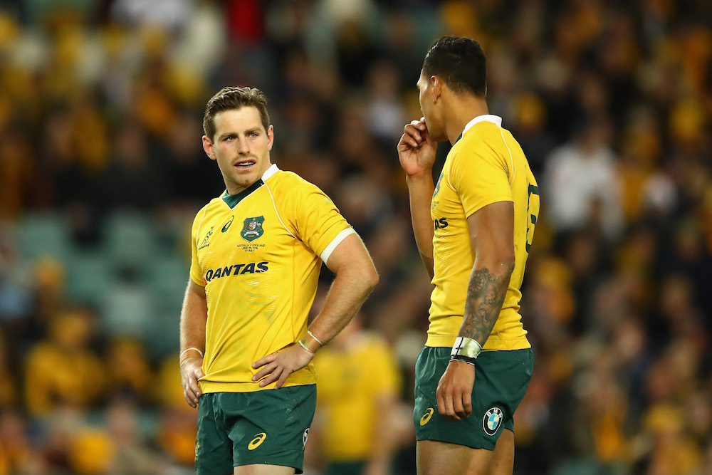 Bernard Foley has added to the Wallabies attack when he has come off the bench in recent weeks. Photo: Getty Images
