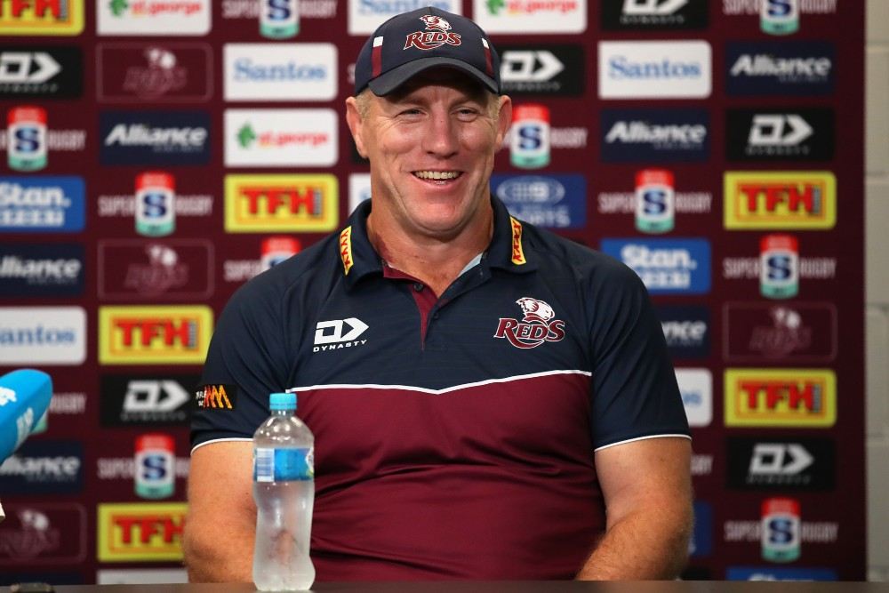 Brad Thorn's remarkable coaching journey continues after winning the Super Rugby AU Final. Photo: Getty Images