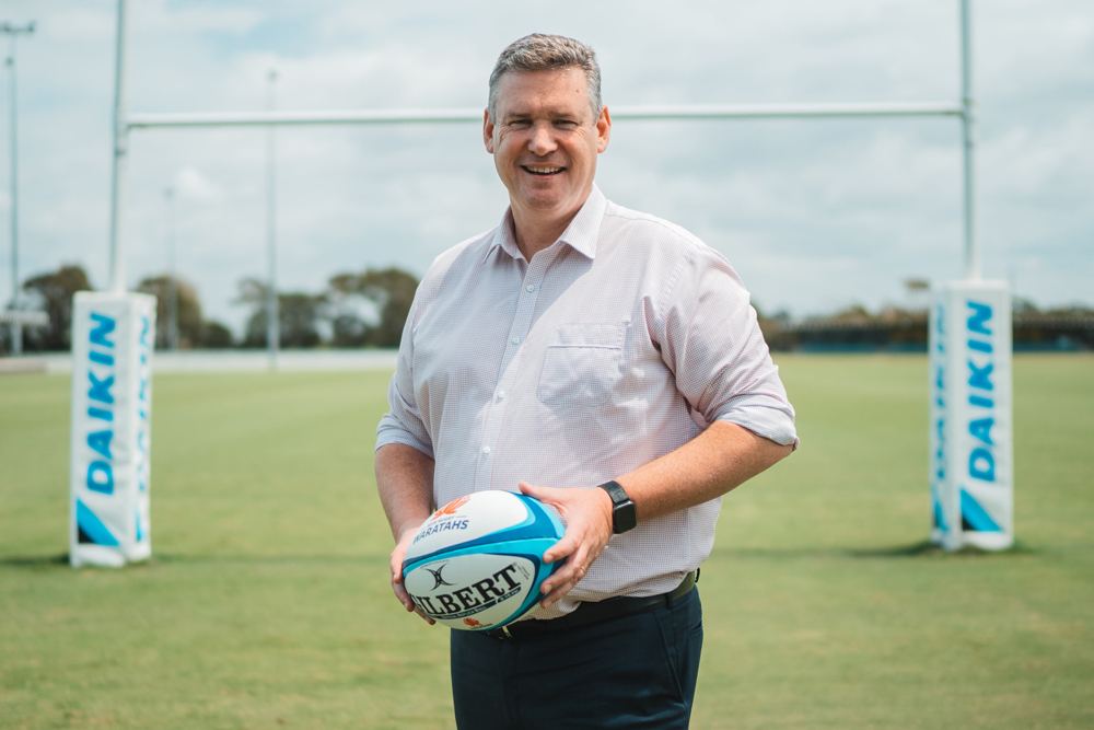 NSW Rugby CEO Paul Doorn has had to cut more than a quarter of his staff. Photo: NSW Rugby