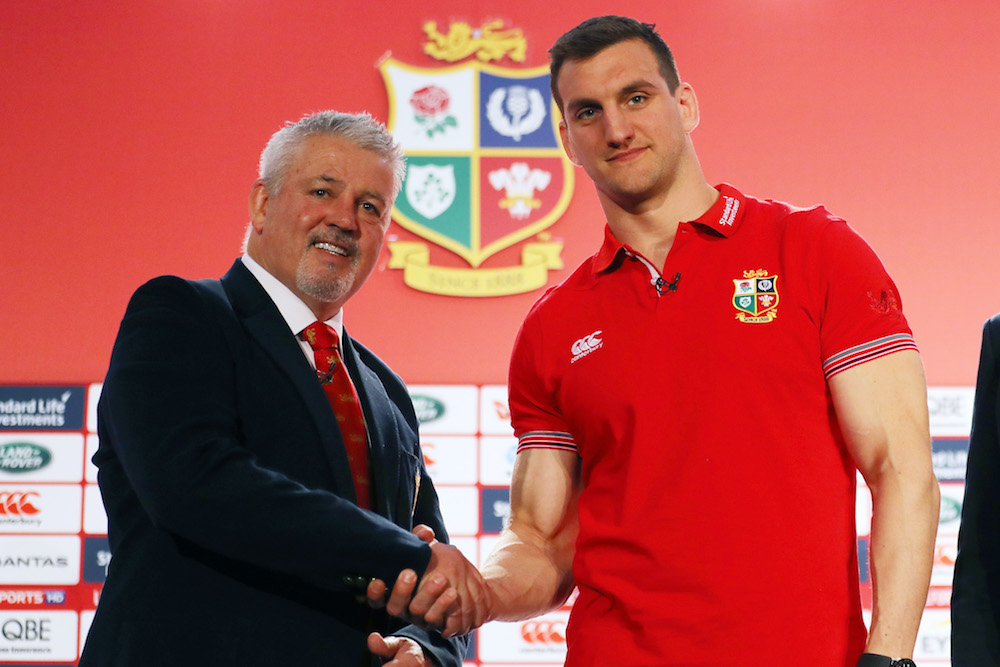 It's offical. Sam Warburton will lead the Lions. Photo: Getty Images
