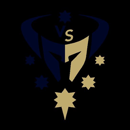 VS Barbarians Rugby Club Logo