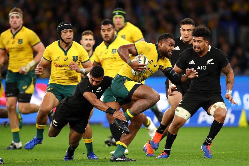 Samu Kerevi will makes his return to the Wallabies side. Photo: Getty Images