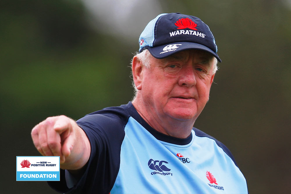 Former NSW Waratahs assistant coach Alan Gaffney will form part of the Online Coaching Masterclass