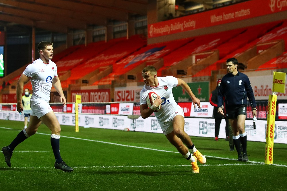 """Eddie Jones compared England's victory over Wales to a """"psycho"""" movie. Photo: Getty Images"""