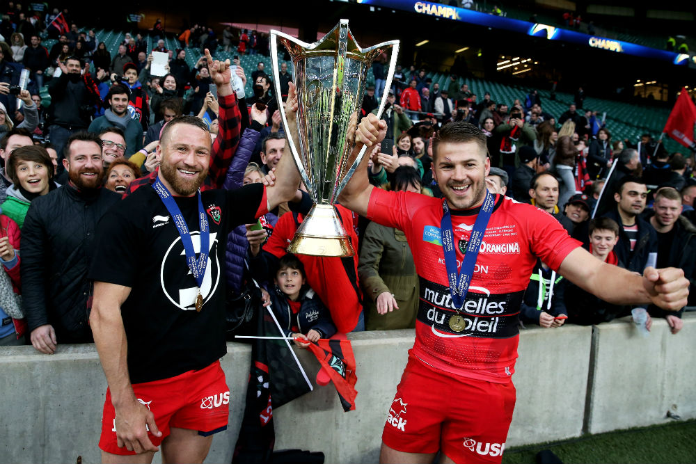 Drew Mitchell and Matt Giteau will run out for Toulon for the first time this season.