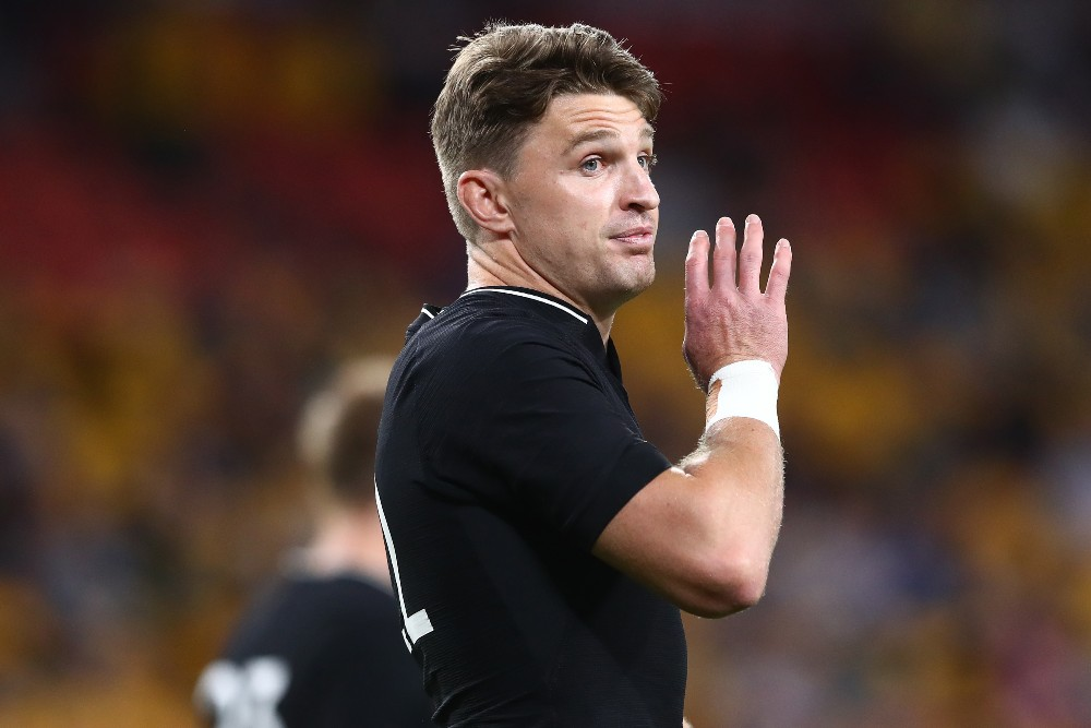 Beauden Barrett is refusing to buy into the recent form of South Africa, expecting an ambush in their 100th Test between the nations. Photo: Getty Images