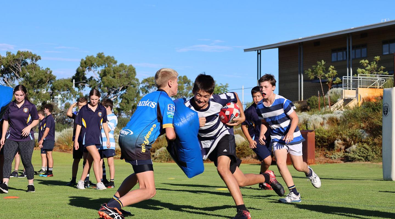 WA Rugby Training