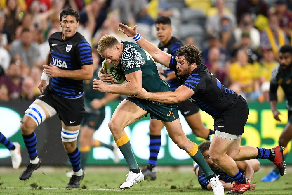 The Wallabies face Argentina in Townsville. Photo: Getty Images