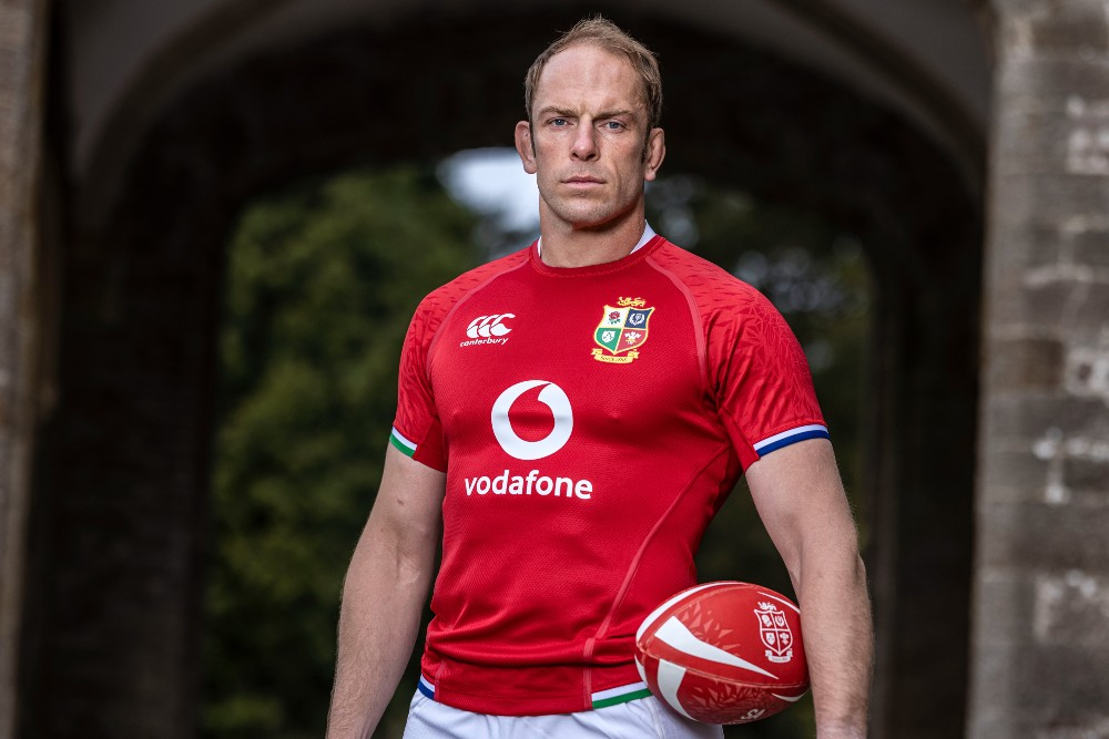 Alun Wyn Jones will captain the Lions in their opening tour match. Photo: Getty Images
