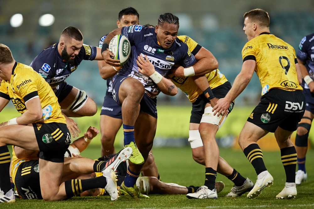 Brumbies outside back Solomone Kata has re-signed for another season. Photo: Getty Images