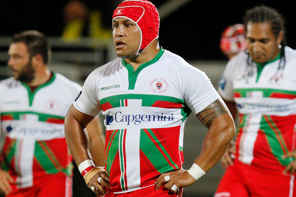 Biarritz are at risk of being relegated to the third division of French rugby. Photo: AFP