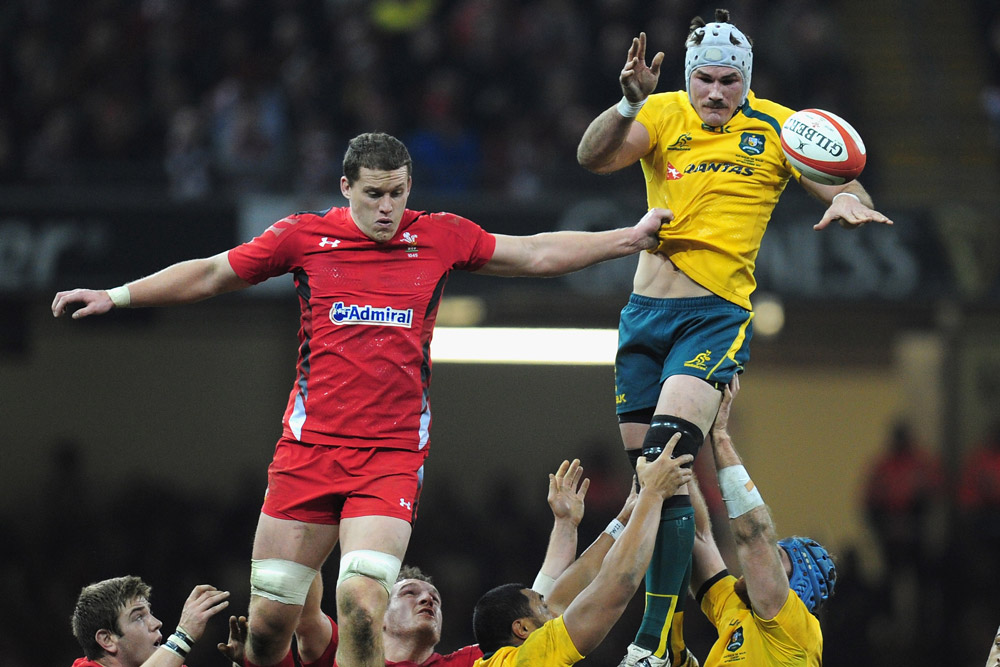 Ben Mowen in action for the Wallabies. Photo: Getty Images