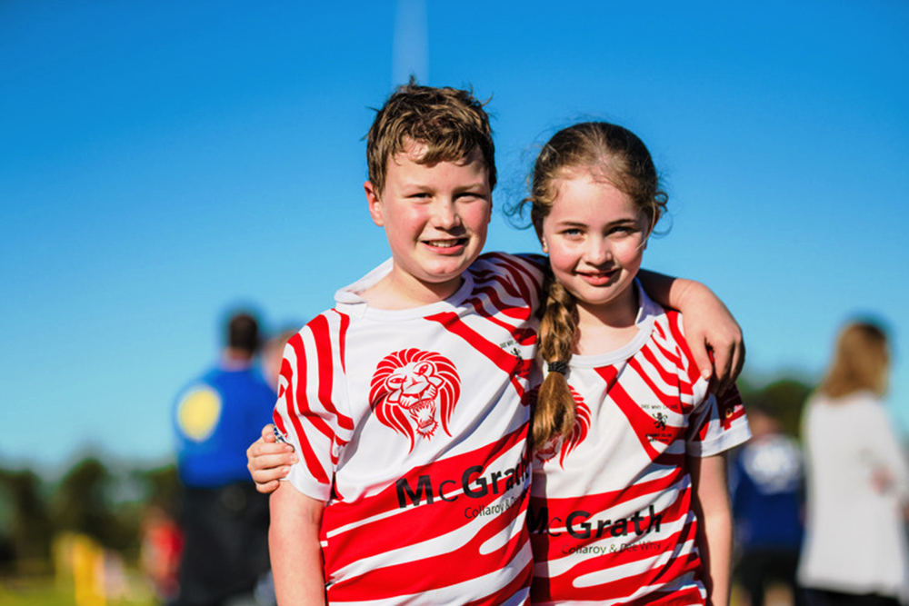 The Positive Rugby Foundation will be contributing to grassroots rugby.