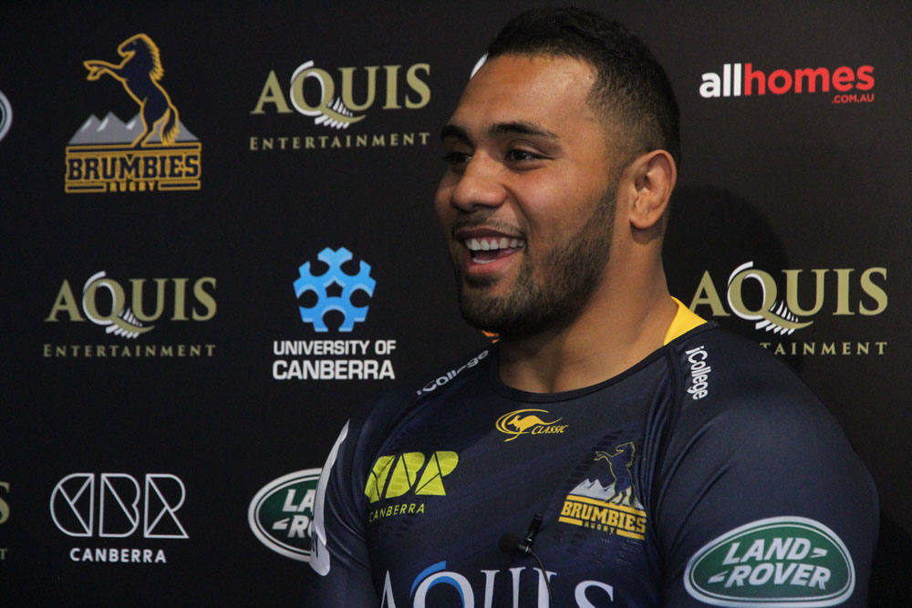 Lolo Fakosilea has signed with the Brumbies. Photo: Getty Images