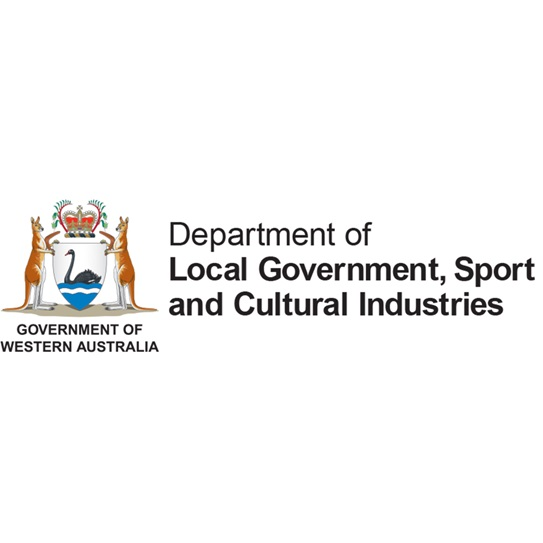 Department of Local Goverment, Sport and Cultural Industries Logo