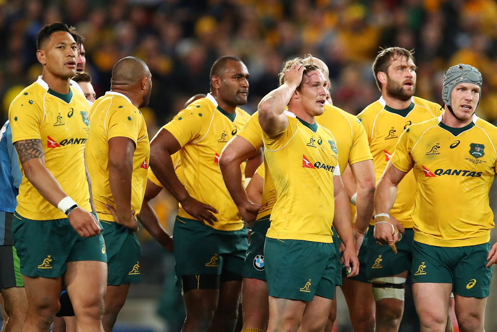 The Wallabies have more work to do. Photo: Getty Images