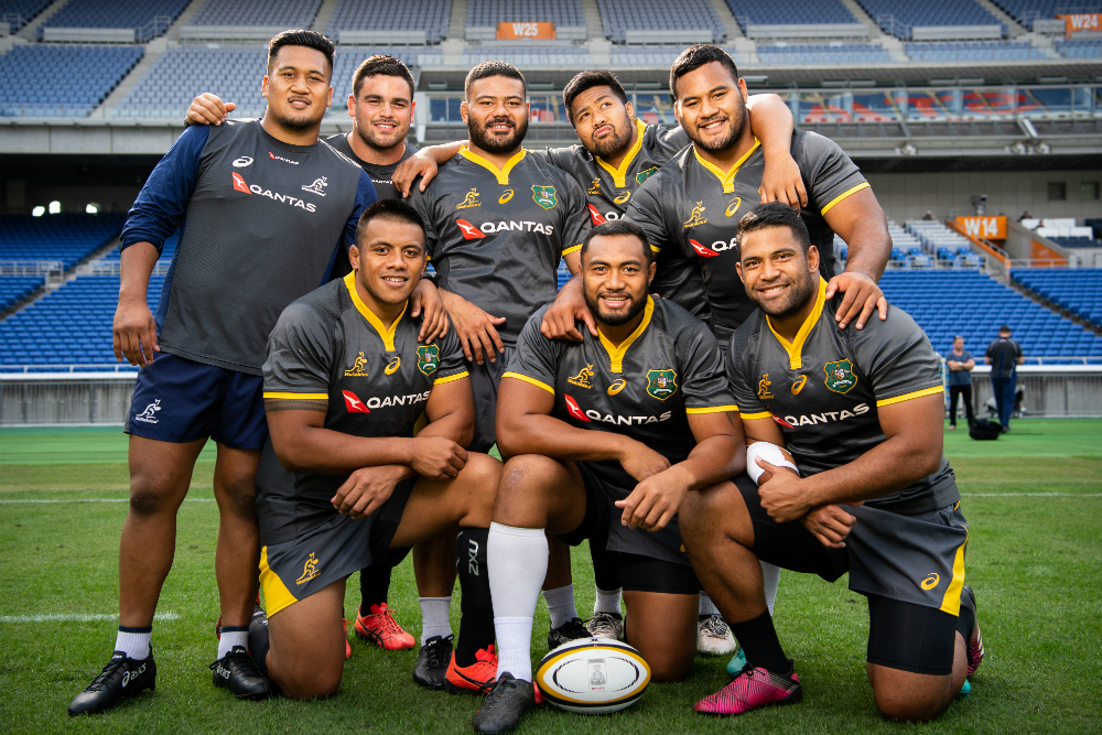 Kepu will be the first prop to crack the 100 Test mark. Photo: RUGBY.com.au/Stuart Walmsley