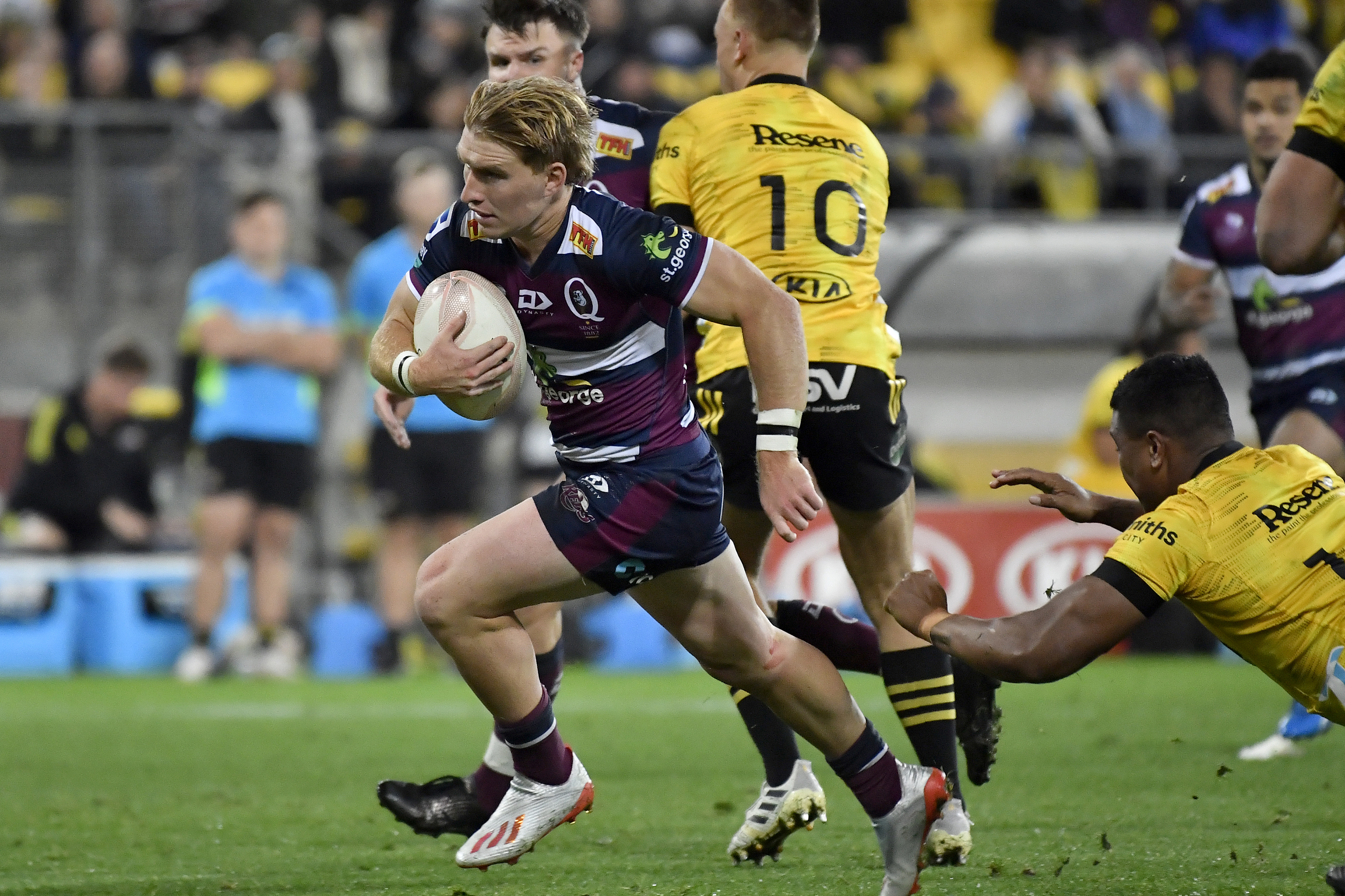 Tate McDermott was a standout for the Reds in Wellington | Getty Images