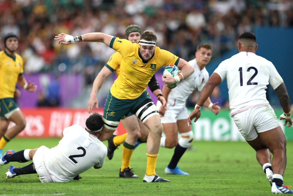 Izack Rodda has earned a remarkable recall to the Wallabies set up. Photo: Getty Images