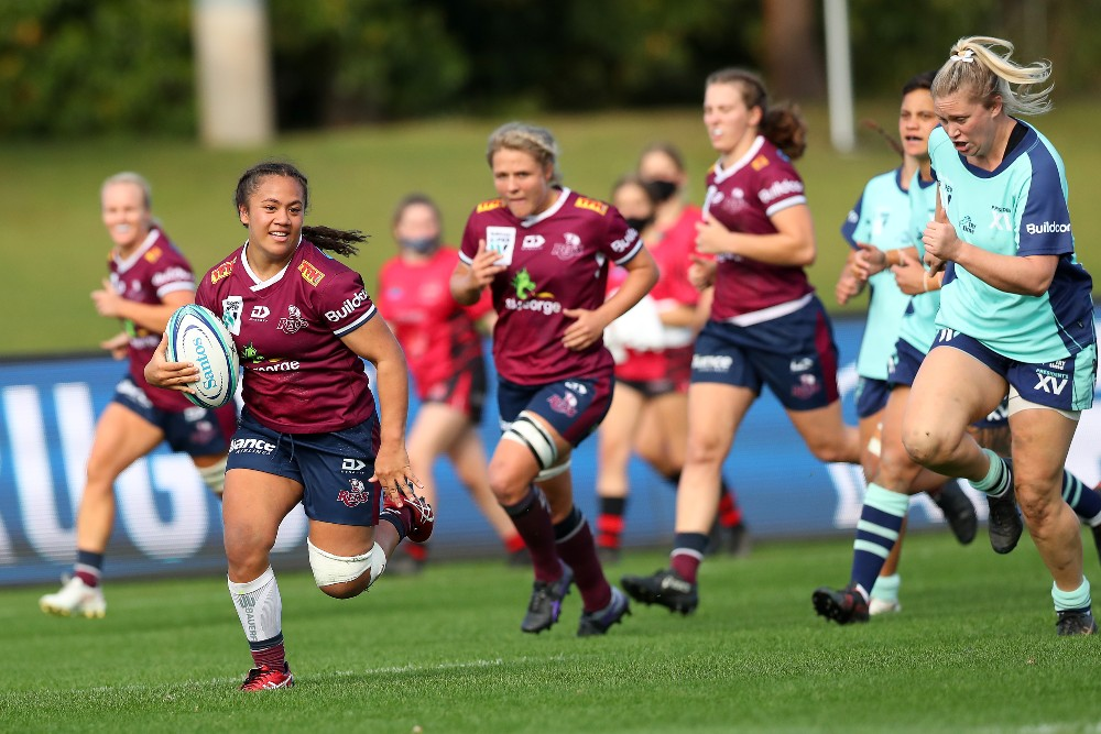 Destiny Brill is among eight new faces as the Wallaroos announce their PONI squad. Photo: Getty Images