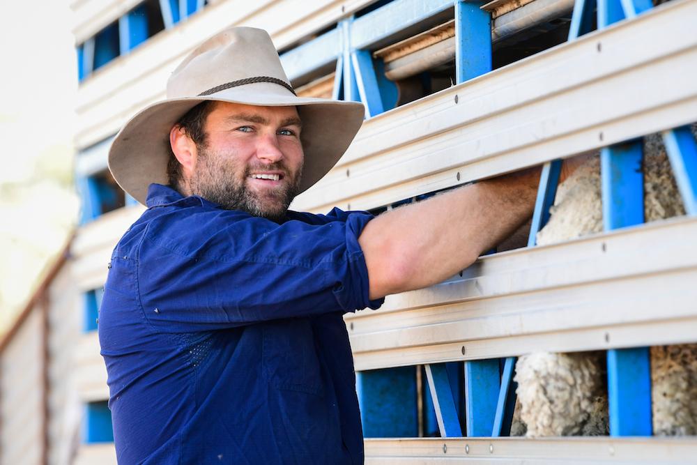 Ben McCalman is back on the family farm near Warren. Photo: Stuart Walmsley/RUGBY.com.au