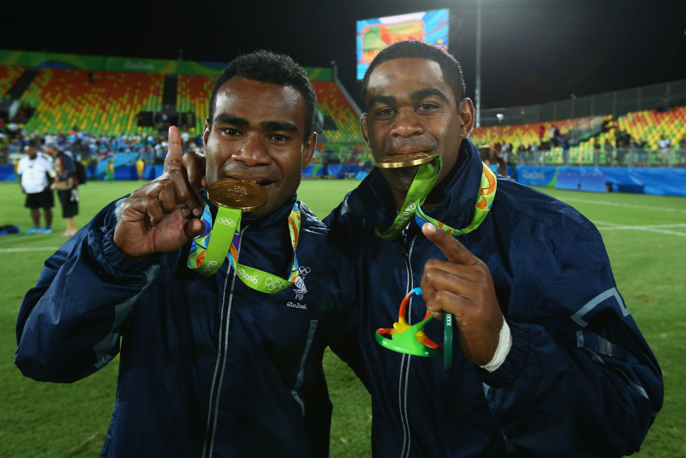 How the world reacted to Fiji's victory. Photo:Getty Images