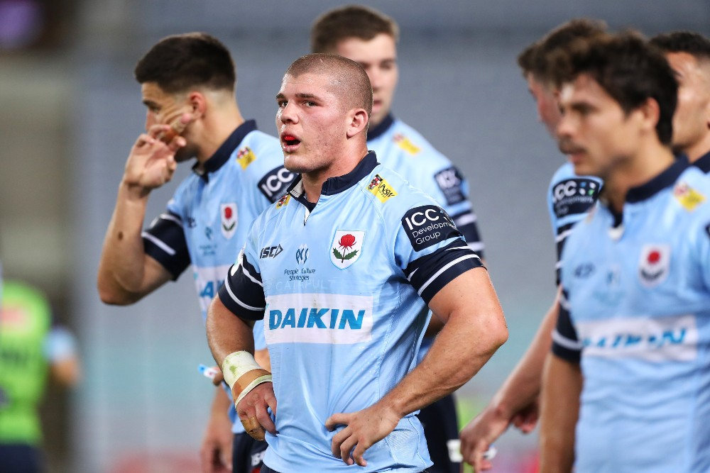 Carlo Tizzano in action for the NSW Waratahs. Photo: Getty Images