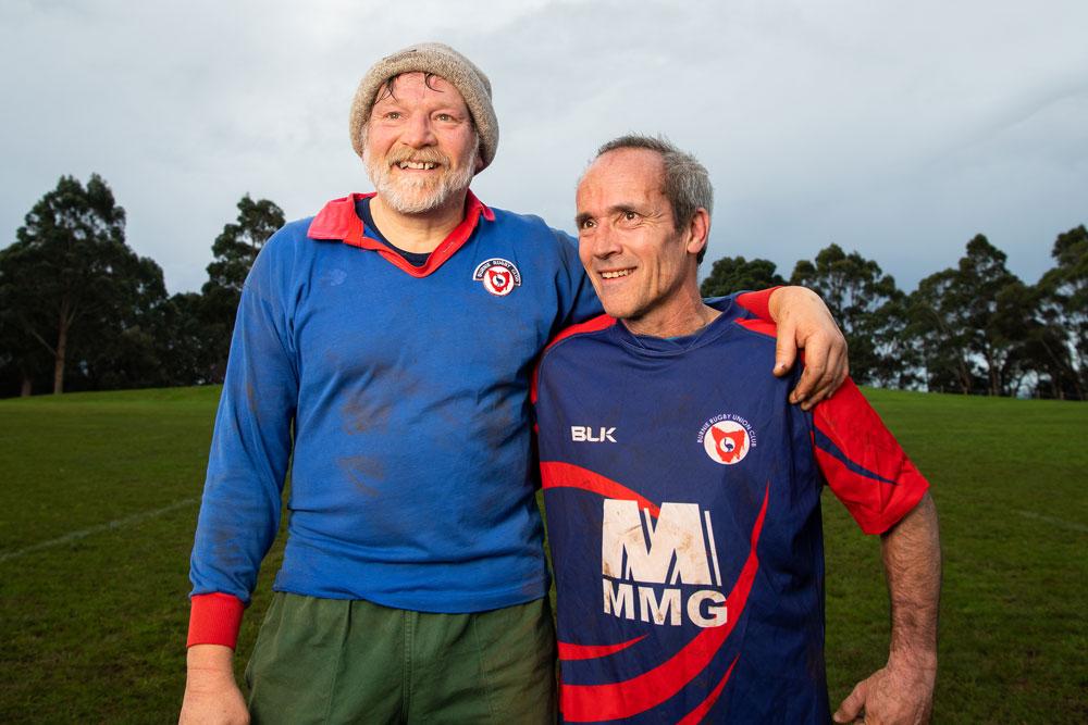 Tasmanians Horch and Kershaw