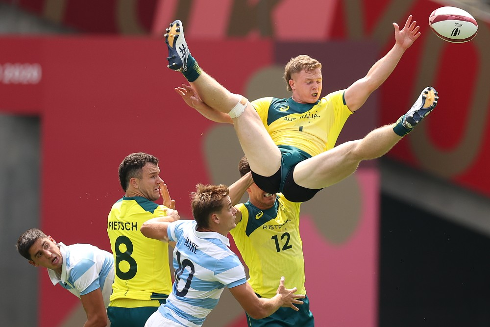 Australia are looking to bounce back after their shock opening round defeat. Photo: Getty Images