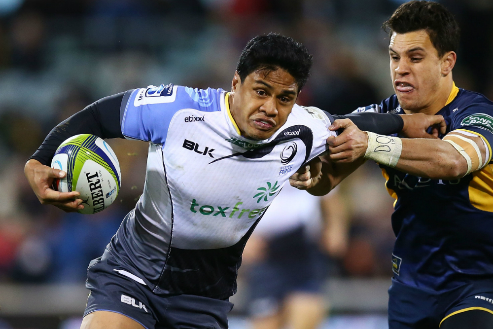 Centre Ben Tapuai has plenty of Super Rugby experience. Photo: Getty Images.