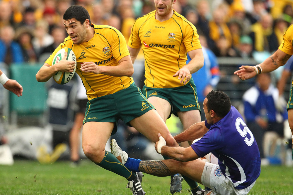 Mark Gerrard will be in action for the Wallaby XV in Bordeaux. Photo: Getty Images