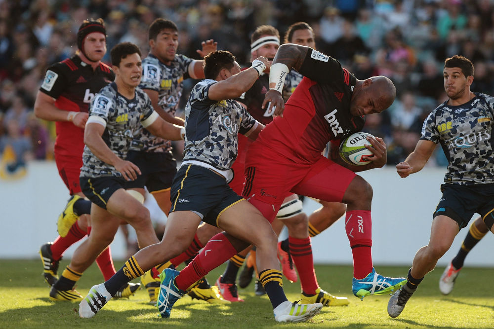 Nemani Nadolo will miss the next four weeks after being suspended for a dangerous tackle. Photo: Getty Images