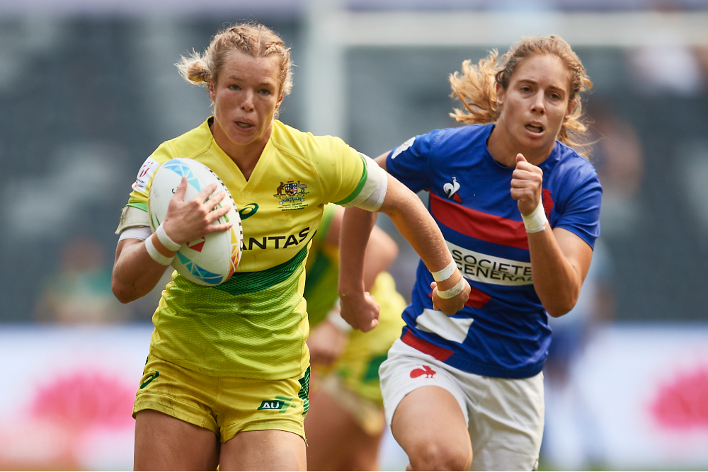 Emma Tonegato makes her return from injury. Photo: Getty Images