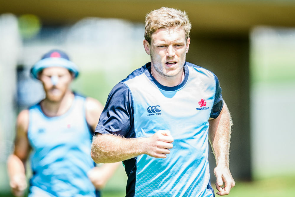 Hegarty played just two games for the Waratahs in 2016 before rupturing his ACL. Photo: ARU Media/Stu Walmsley