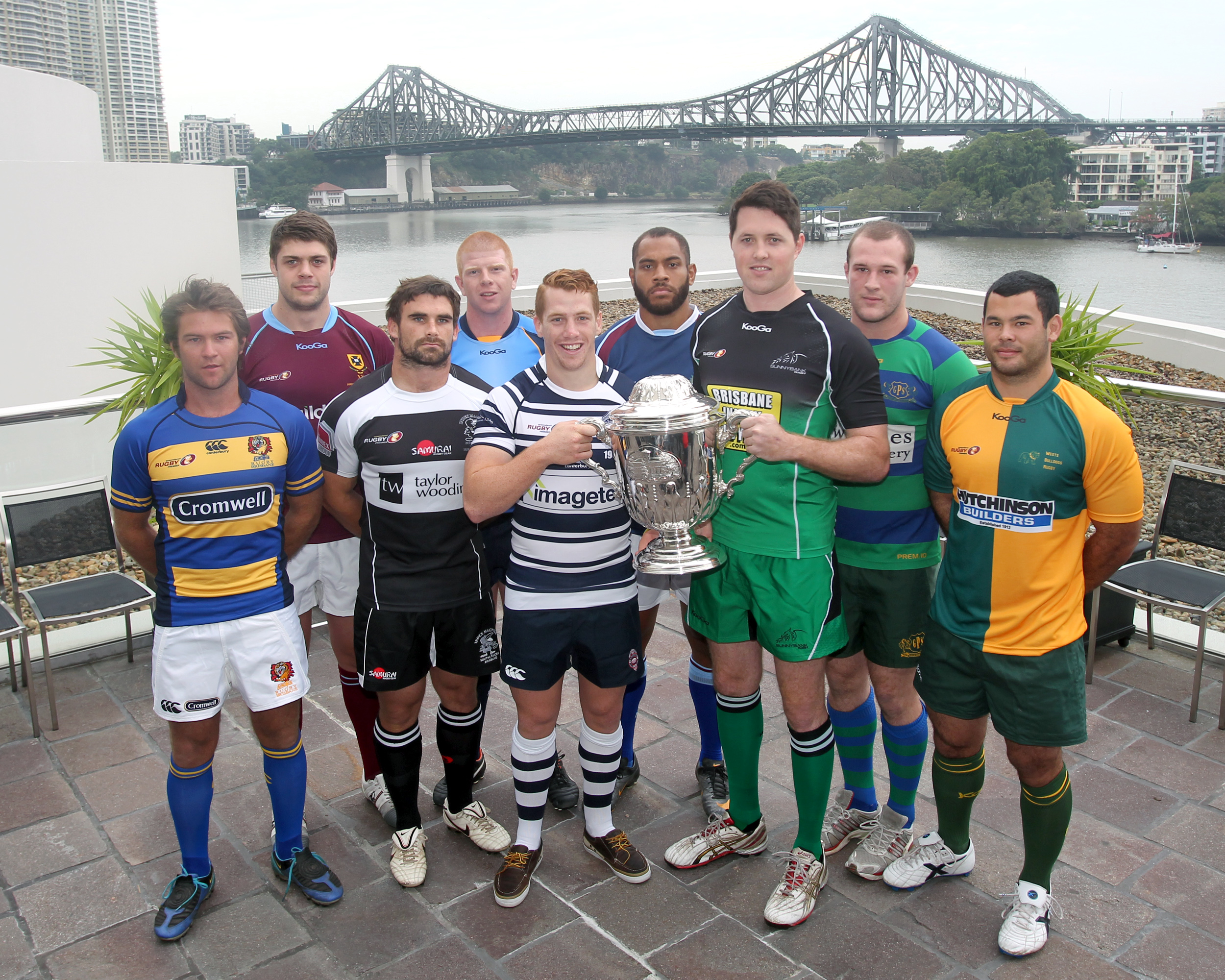 2012 Hospital Cup Captains