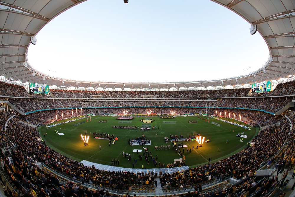 The third Bledisloe Test has been rescheduled for Fathers Day. Photo: Getty Images