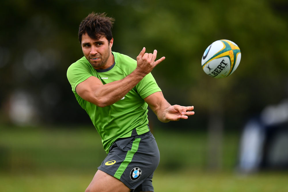 Nick Phipps in action at training. Photo: Getty Images