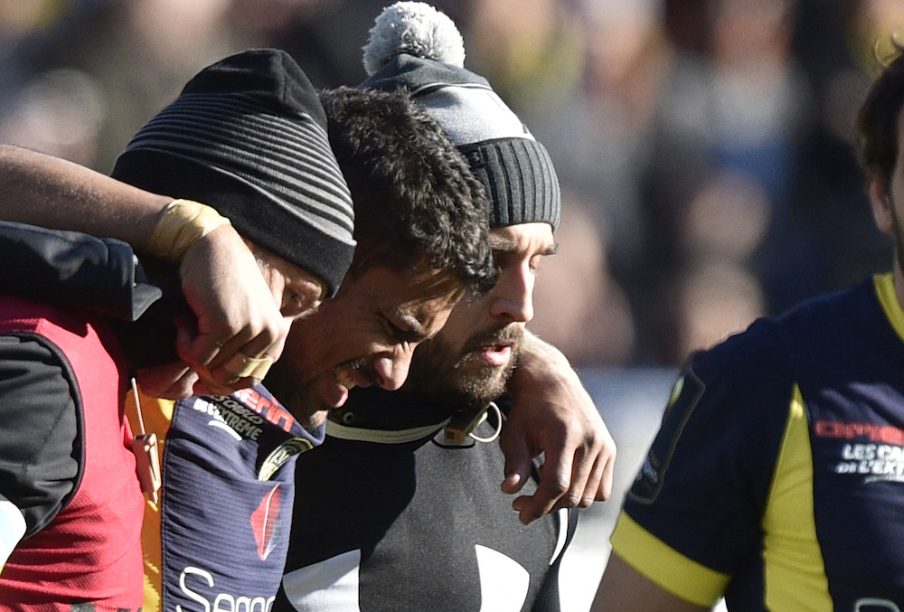 Wesley Fofana leave the field in Clermont's win over Exeter. Photo: AFP