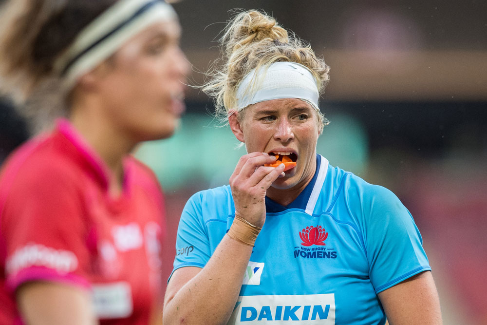 Inge Visser is happy playing with NSW. Photo: RUGBY.com.au/Stuart Walmsley