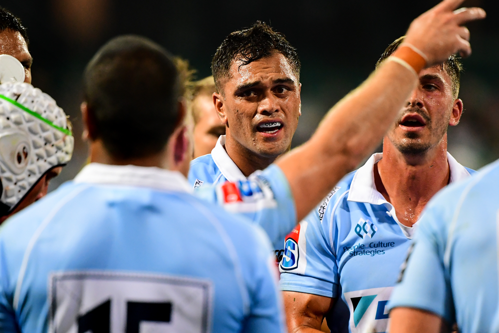 The Waratahs want to re-sign Karmichael Hunt, if they can afford him. Photo: Getty Images