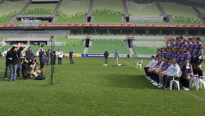 Melbourne Rebels Team Photograph