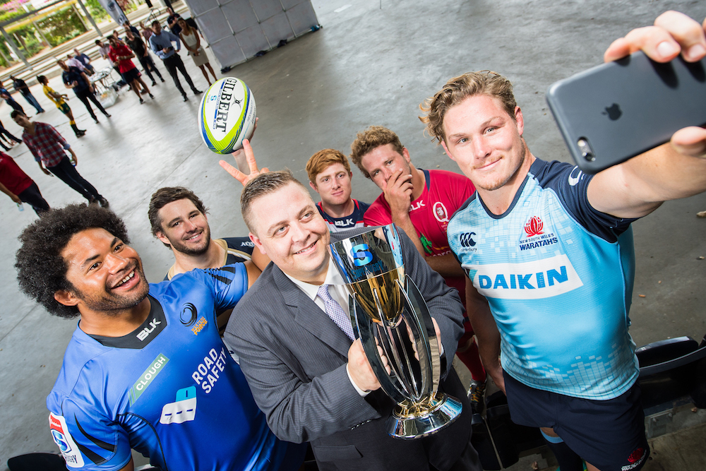Vodafone back as Super Rugby naming rights partner. Photo: Getty Images