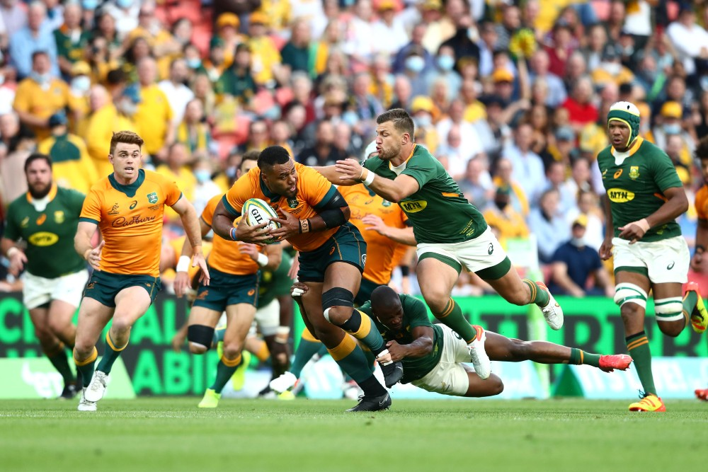 Mario Ledesma is wary of Wallabies centre Samu Kerevi after his strong showing against South Africa. Photo: Getty Images