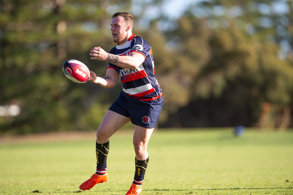 The Southern Lions in action in the Fortescue Premier Grade