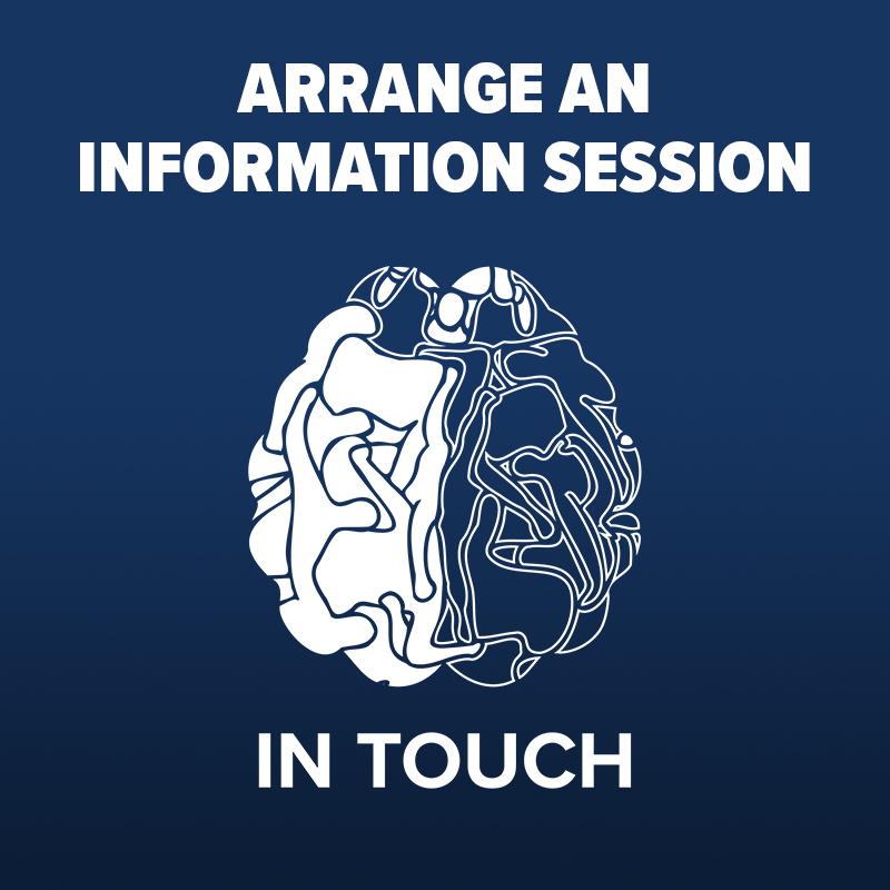 In Touch Arrange a Session