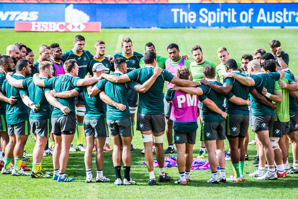 The Wallabies are preparing for the first Test. Photo: ARU Media/Stu Walmsley
