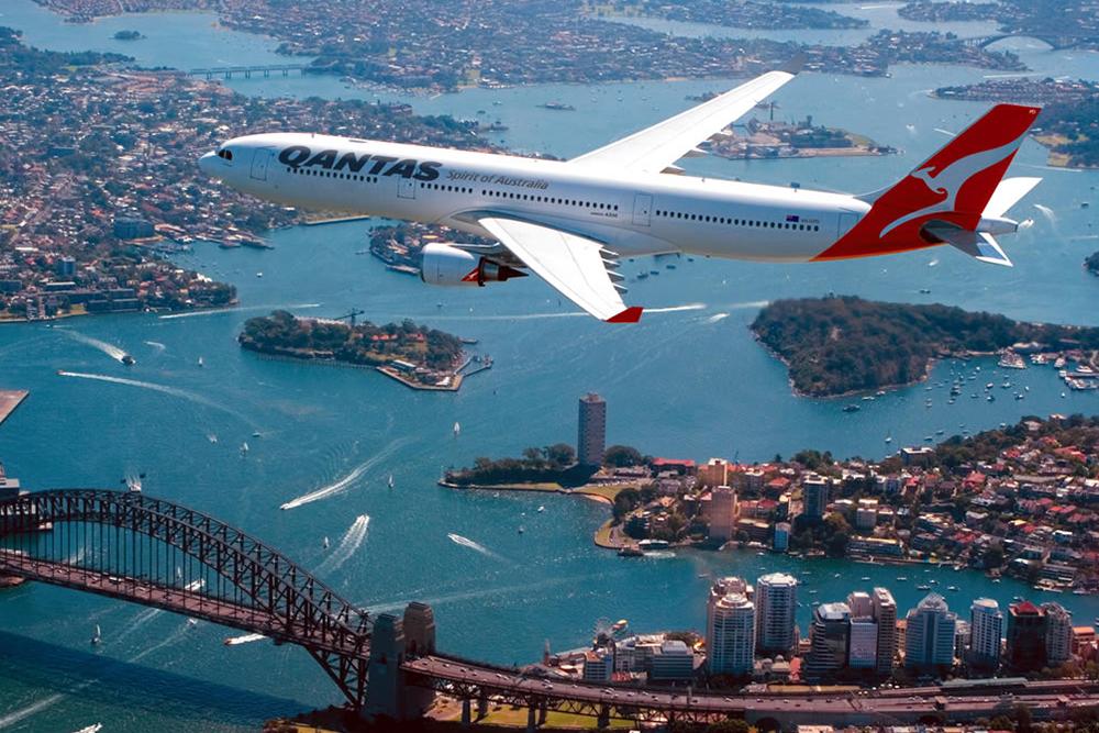 Sydney Harbour Bridge Qantas