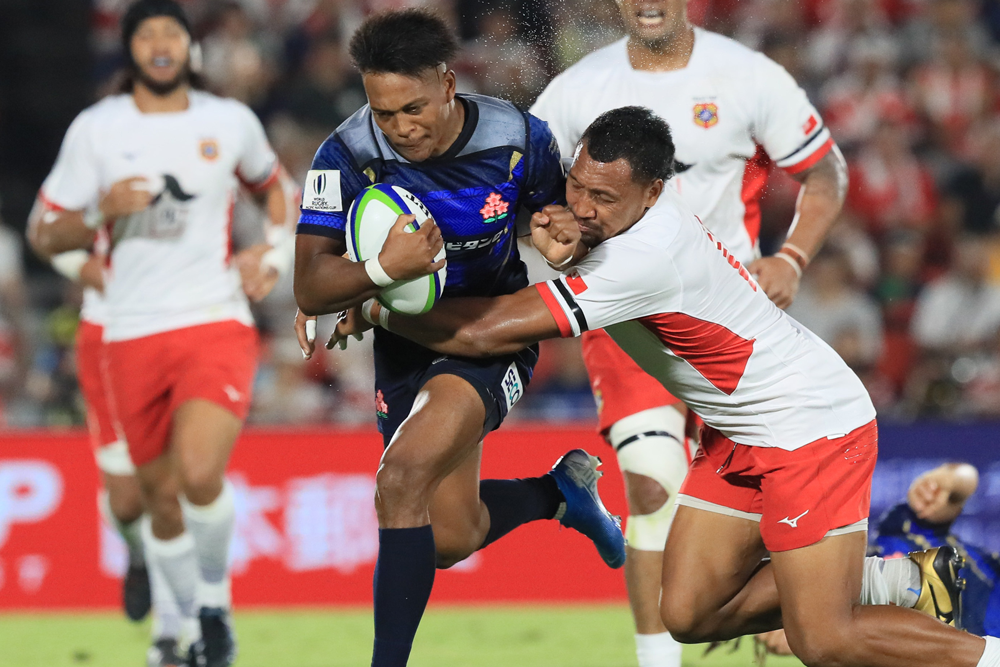 Japan had a big win over Tonga. Photo: AFP